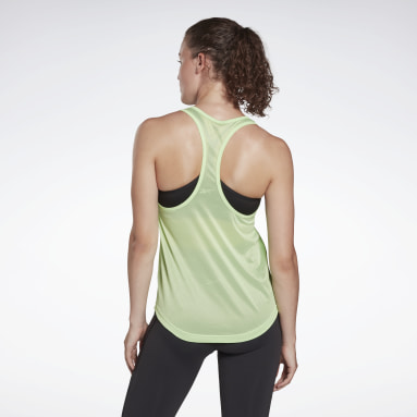 Women Cycling Mesh Back Tank Top