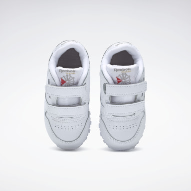 Infants Classics White Classic Leather Shoes - Toddler