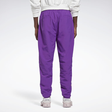 Classics Purple Reebok by Pyer Moss Pants