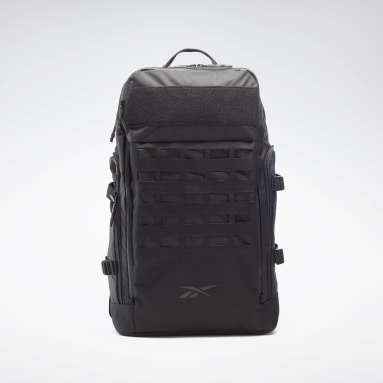 Outdoor Black Training Weave Backpack
