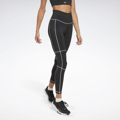 Women Fitness & Training Black Workout Ready High-Rise Detail Leggings