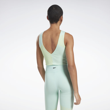 Kvinder Cycling Seamless Crop Top