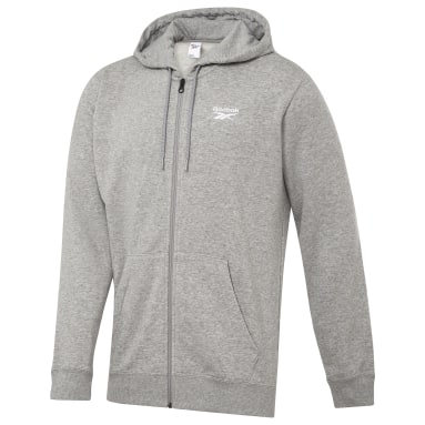 Classics Grey Classics Zip-Up Hooded Jacket