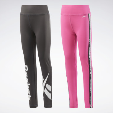 Girls Training 2-Pack Vector/Tape Leggings