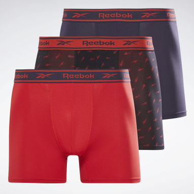 Men Fitness & Training Blue Reebok Sports Trunks Radnor