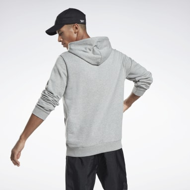 Mænd Fitness & Training Grey Reebok Identity Hoodie