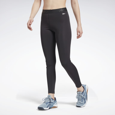 Women HIIT Black Workout Ready Commercial Tights
