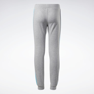 Meisjes Fitness & Training Grijs Reebok Logo Joggingbroek