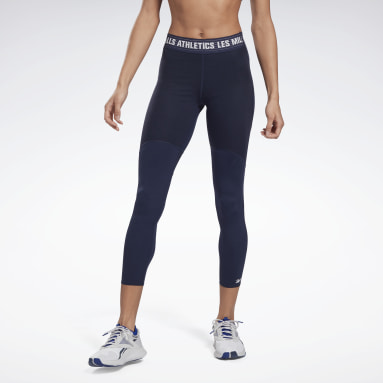 Leggings Les Mills® PureMove Motion Sense™ Blu Donna Studio