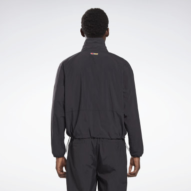 Giacca a vento Reebok by Pyer Moss Pullover Nero Classics