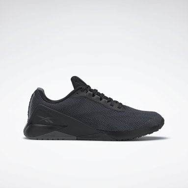 Cross Training Black Nano X1 Grit Shoes