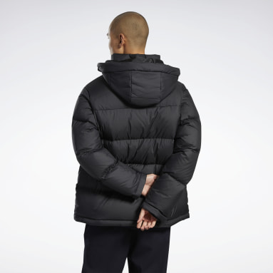 Men Classics Black Core Mid Down Jacket