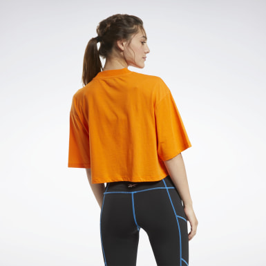 T-shirt à motif MYT Orange Femmes Danse
