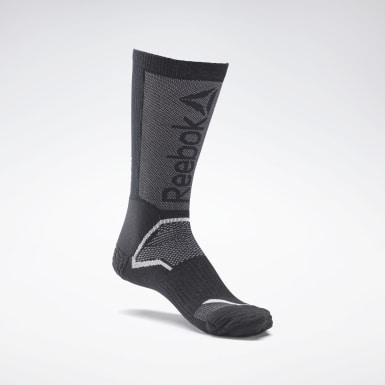 Cross Training Black CrossFit® Tech Crew Socks