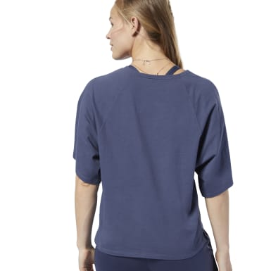 Women Training Blue Training Supply Tee