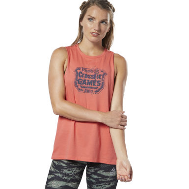 Musculosa Reebok CrossFit® Games Crest