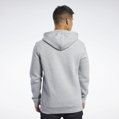 Men Combat Grey UFC Fan Gear Hoodie