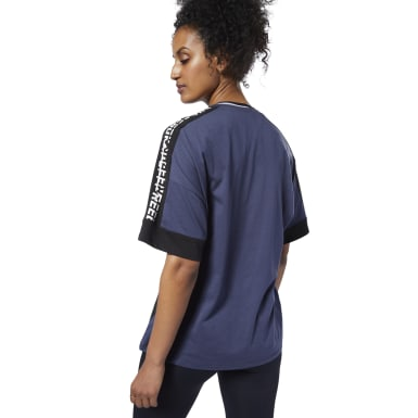 Women Training Blue Meet You There Graphic Tee