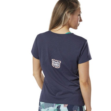 T-shirt Reebok CrossFit® Games ACTIVCHILL + Cotton