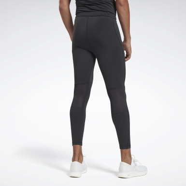 Legging Running Essentials Speedwick Preto Homem Running