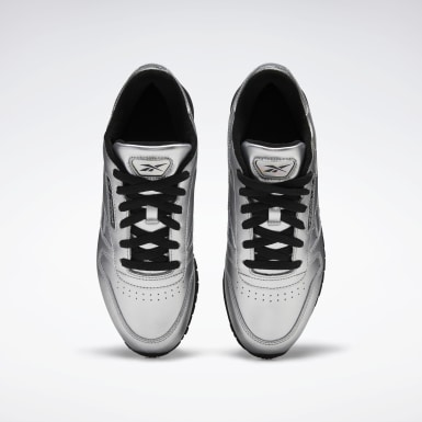 Women Classics Silver Classic Leather Women's Shoes