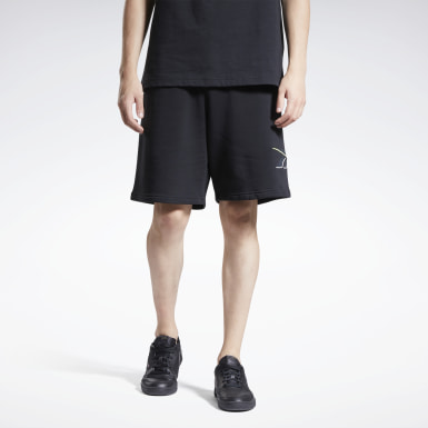 Men Classics Black Classics Knit Shorts