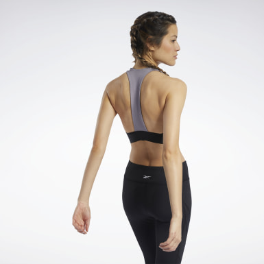Women Cycling Workout Ready Low-Impact Sports Bralette