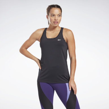Women Fitness & Training Black Activchill Athletic Tank Top
