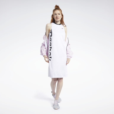 Vestido Meet You There Basketball Blanco Mujer Running