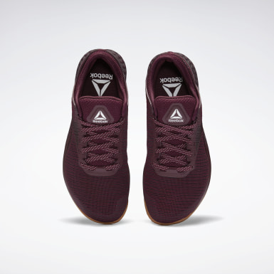 Men Training Burgundy Reebok Nano 9 Men's Training Shoes