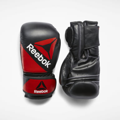 Training Black Combat Leather Glove