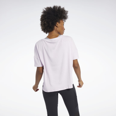 Women Yoga Perforated Tee