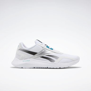 Women Running White Reebok Energylux 2 Women's Running Shoes