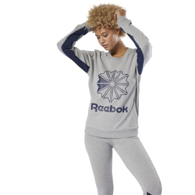 Classics French Terry Big Logo Crew Sweatshirt