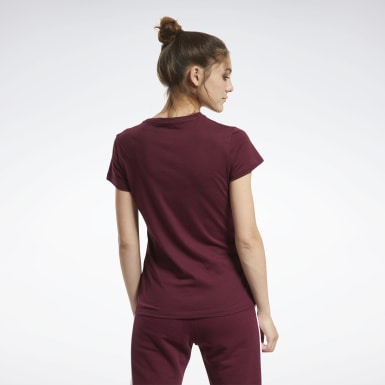 Women Training Burgundy Training Essentials Graphic Tee