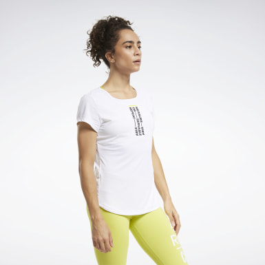 Dames Crosstraining Wit RC ACTIVCHILL Tee