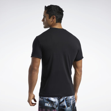 RC AMRAP Graphic Tee Negro Hombre CrossFit