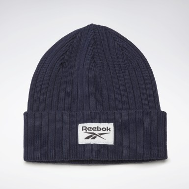 Running Blue Active Foundation Logo Beanie
