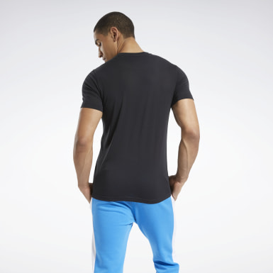 Men Yoga Black Graphic Series Speedwick Tee