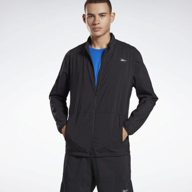 Herr Löpning Svart Running Essentials Wind Jacket