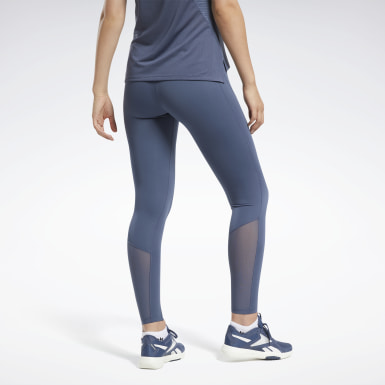 Mallas Reebok Lux Perform Azul Mujer HIIT