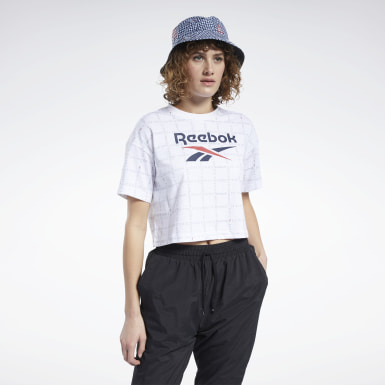 T-shirt crop Grid