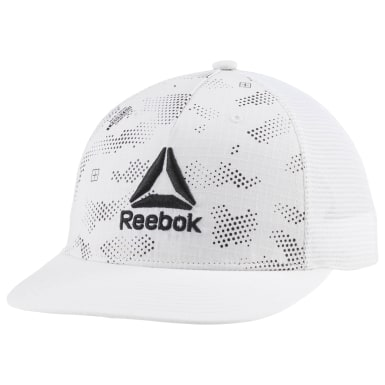 Gorra de visera plana Active Enhanced Blanco Fitness & Training
