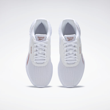 Women Running White Reebok Lite 2 Shoes