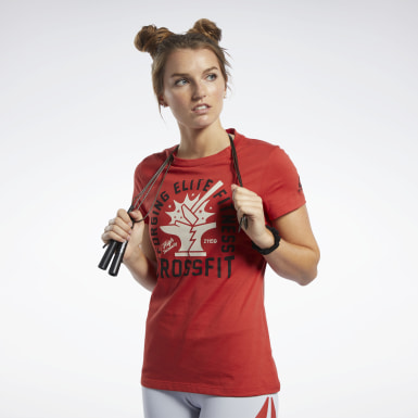 Frauen Cross Training Reebok CrossFit® Anvil T-Shirt