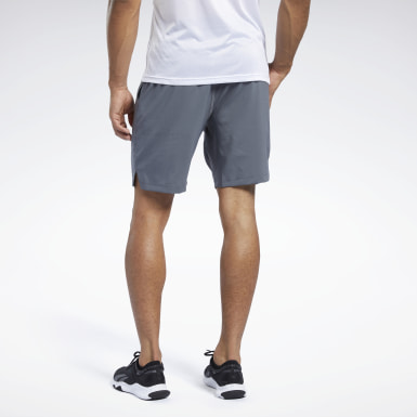 Heren HIIT Grijs Workout Ready Short
