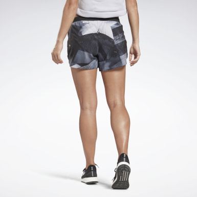 Kvinder Running Black Running Essentials 4 Inch Graphic Shorts
