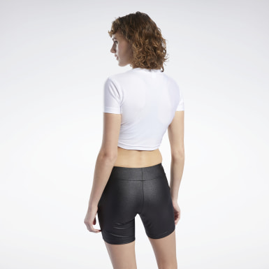 MISBHV CROPPED TEE Blanco Mujer Classics