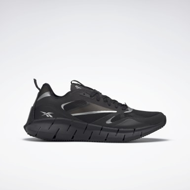Classics Black Zig Kinetica Horizon Shoes
