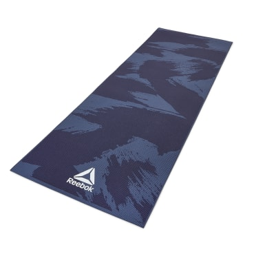 Fitness & Training Multicolour Yoga Mat - 4mm - Brush